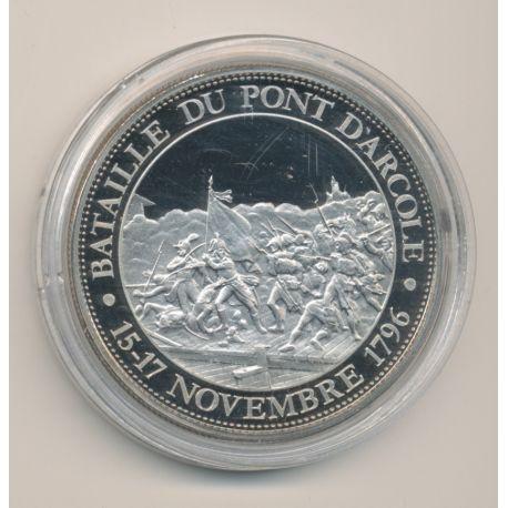 Médaille - Bataille du pont d'racole - 15-17 novembre 1796 - Collection Napoléon Bonaparte