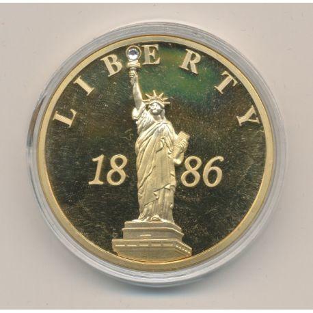 Médaille - Commémoration 125 ans Statue de la liberté