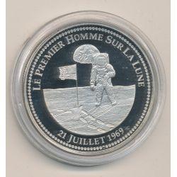 Médaille - Le premier Homme sur la lune - 21 juillet 1969 - Apollo 11