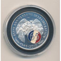 Médaille - 65e anniversaire de la libération - 1945-2010