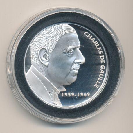 Médaille - Charles De Gaulle - Les Présidents de la république