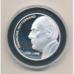 Médaille - François Mitterand - Les Présidents de la république