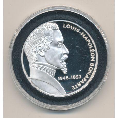 Médaille - Louis napoléon bonaparte - Les Présidents de la république