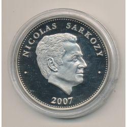 Médaille - Nicolas Sarkozy - Président de la République