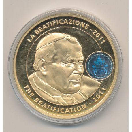 Médaille - Béatification - 2011 - Jean Paul II
