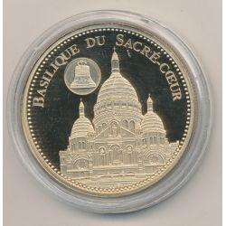 Médaille - Basilique du sacré-coeur - Trésor patrimoine de France