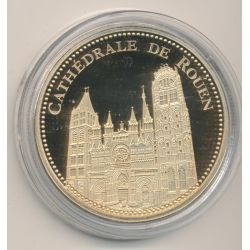Médaille - Cathédrale de Rouen - Trésor patrimoine de France
