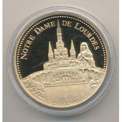 Médaille - Notre dame de Lourdes - Trésor patrimoine de France