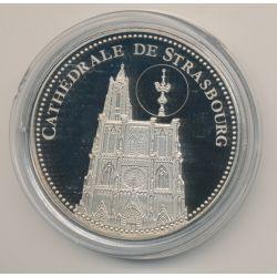 Médaille - Cathédrale de Strasbourg - Trésor patrimoine de France