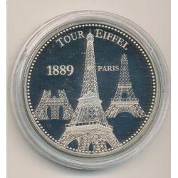 Médaille - Tour eiffel 1889 Paris - Trésor patrimoine de France