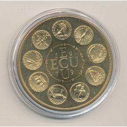 Ecu EUROPA - 1979 - bronze