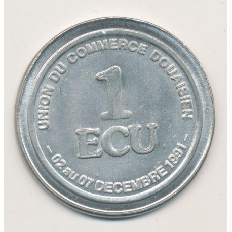 1 Ecu - 1991 - Douai