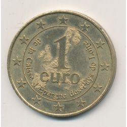 1 Euro - Caisse d'épargne pays de la loire - 2002