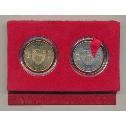 Coffret Euro de MEAUX - 1€ + 2€ 1998