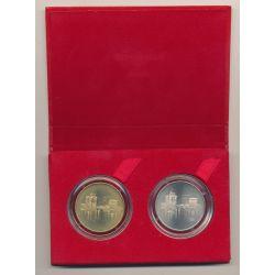 Coffret - 1€ + 2€ 1997 - LA ROCHELLE