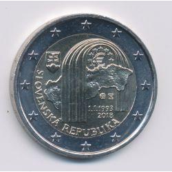 2€ Slovaquie 2018