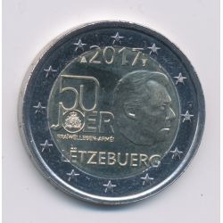 2€ Luxembourg 2017 - 50 ans service militaire