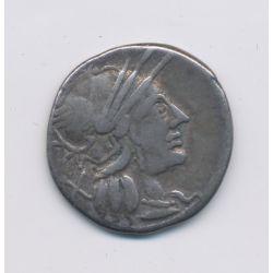 République Romaine - Denier argent - Rome