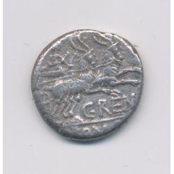 République Romaine - Denier argent - Caius Renius