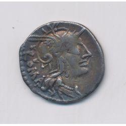 République Romaine - Denier argent - Tullia