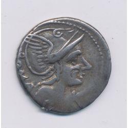 République Romaine - Denier argent - Flaminia - Rome