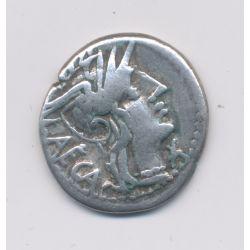 République Romaine - Denier argent - Porcius Laeca - Rome