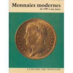 Monnaies Modernes - de 1789 à nos jours