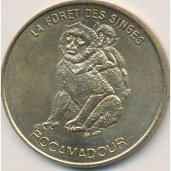 Dept46 - La foret des singes N°1 - face simple - 1999