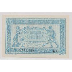 Trésorerie aux armées - 50 Centimes - 1919 - Alphabet A1