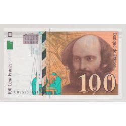 100 Francs Cézanne - 1997