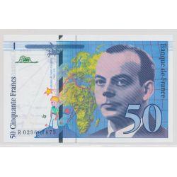 50 Francs St Éxupéry - 1996 - R