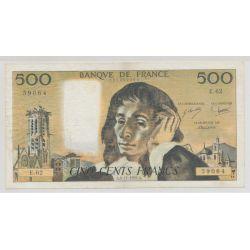 500 Francs Pascal - 4.11.1976 - E.62