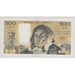 500 Francs Pascal - 5.10.1978 - M.90