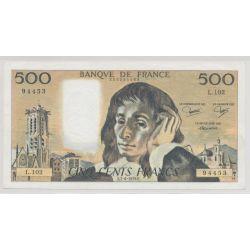 500 Francs Pascal - 7.06.1979 - L.102