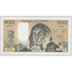 500 Francs Pascal - 2.07.1981 - O.146