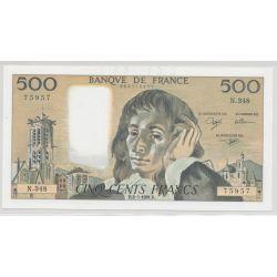 500 Francs Pascal - 2.05.1991 - N.348 - SPL+