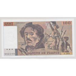 100 Francs Delacroix - 1994 - alphabets au choix - NEUF