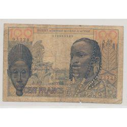Togo - 100 Francs - 20.5.1957 -