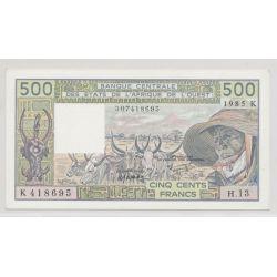 Afrique de l'ouest - 500 Francs - 1985 K Sénégal - NEUF