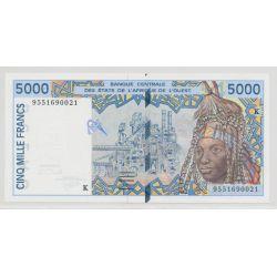 Afrique de l'ouest - 5000 Francs - 1992 K Sénégal - NEUF