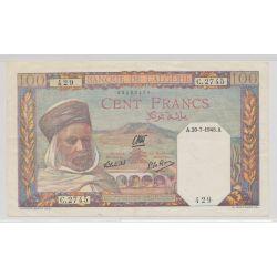 Algérie - 100 Francs - 20.07.1945 - TTB+