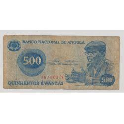 Angola - 500 Kwanzas - 1976 - TB
