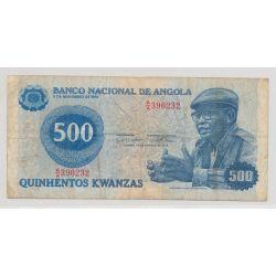 Angola - 500 Kwanzas - 1979 - TB+