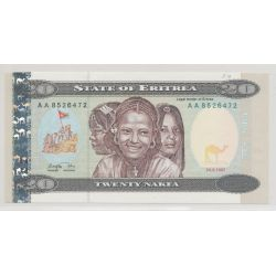 Erythrée - 20 nafka - NEUF