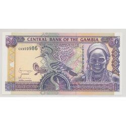 Gambie - 50 dalasis - ND 2001 - NEUF