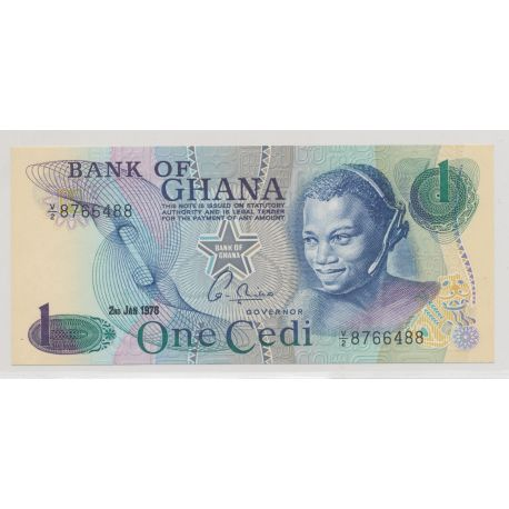 Ghana - 1 cedi - 2.01.1976 - NEUF