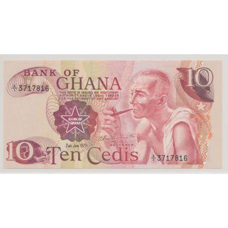 Ghana - 10 cedis - 2.01.1978 - NEUF