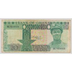 Ghana - 20 cedis - 6.03.1982 - TTB