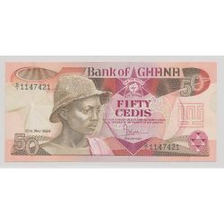 Ghana - 50 cedis - 15.05.1984 - NEUF