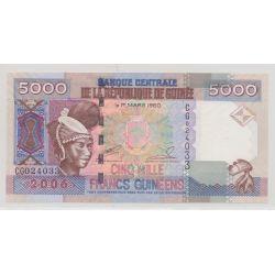 Guinée - 5000 Francs - 1960/2006 - NEUF